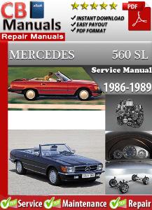 mercedes 560sl 1986 1989 workshop service manual digitalworkshoprepair rh digitalworkshoprepair wordpress com 1986 mercedes 560sl service manual 1986 Mercedes 380SL