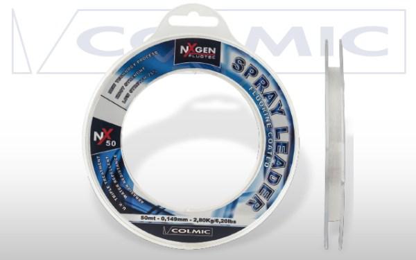 Hilo fluorocarbono COLMIC SPRAY LEADER NX50