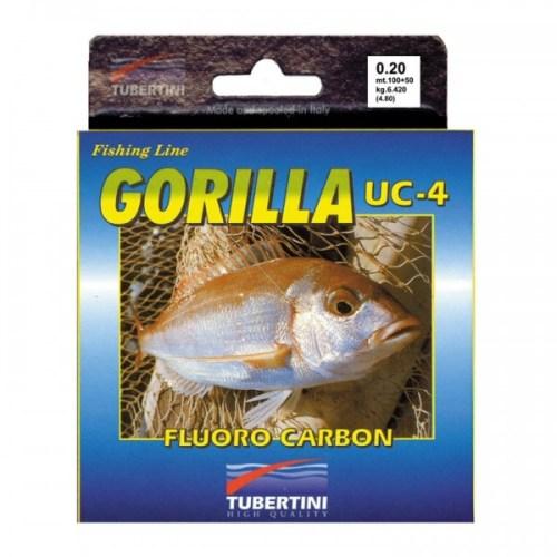 Hilo fluorocarbono TUBERTINI GORILLA UC-4