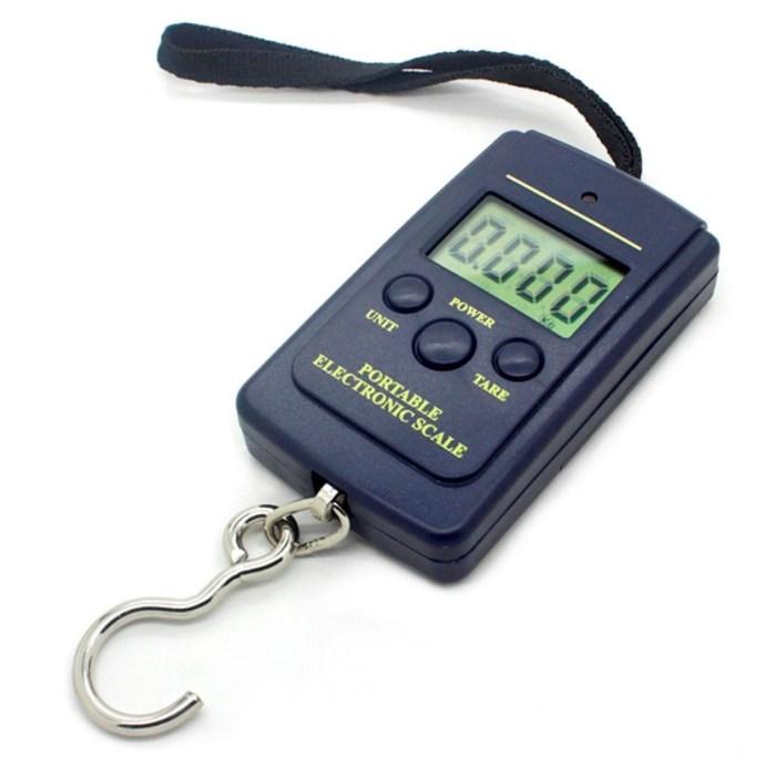 Peso electronico de mano