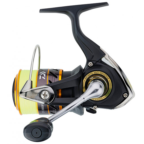 Daiwa Crossfire 2500 BG + J-Braid 4X