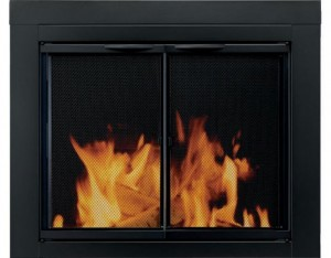 Pleasant-Hearth-AN-1010-Alpine-Fireplace-Glass-Door