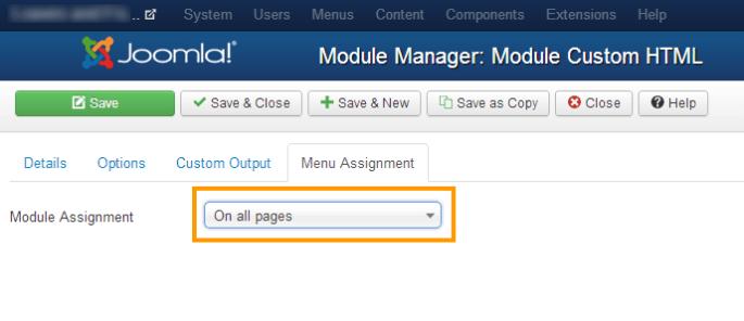 Joomla 3 Missing Module