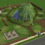 Sims 2 Linden Park Community Lot Download