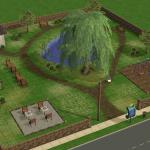 Sims 2 Linden Park Community Lot Download