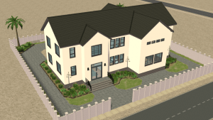 The Sims 2 Strangetown Orphanage - Residential Lot Download - Children's Home