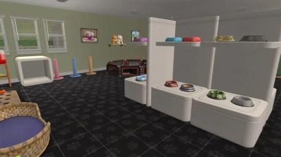 Pet Store Shelves