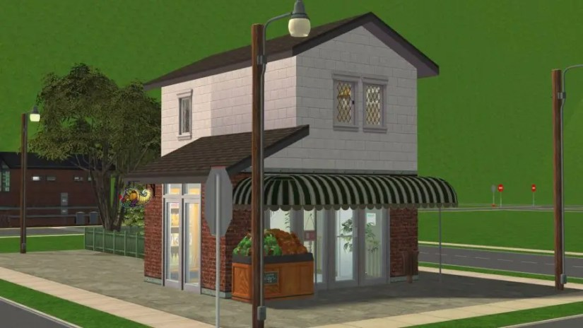 Sims 2 Edgewood Grocery Store