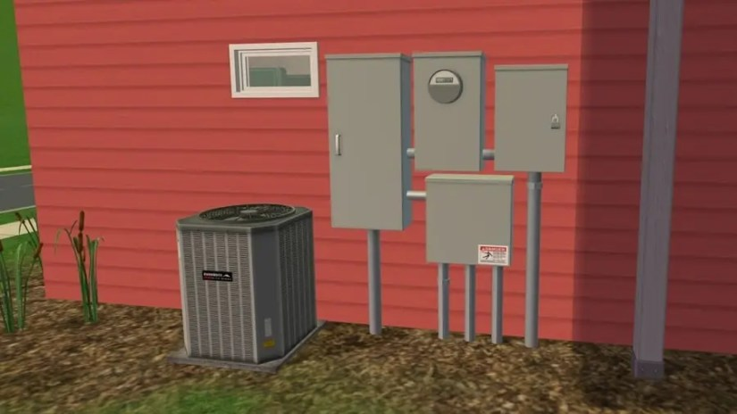 Sims 2 Electrical Boxes
