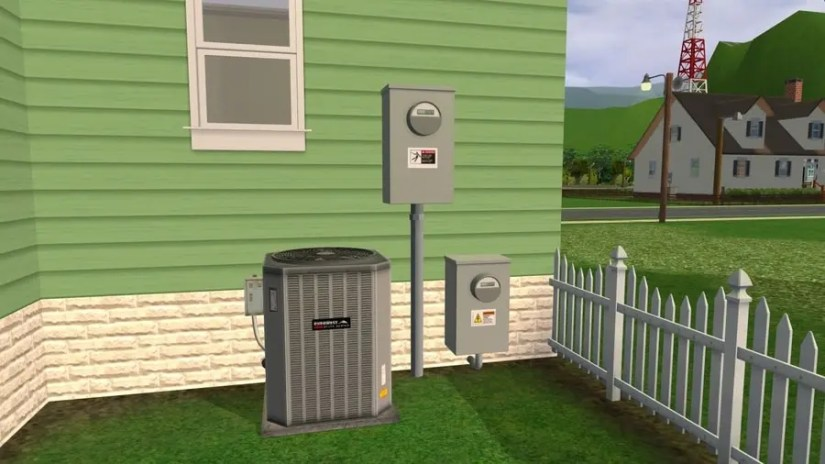 Sims 2 Utility Boxes
