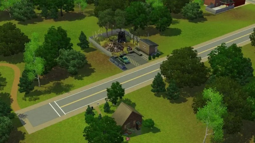 Junkyard Sims 3 Pleasantview