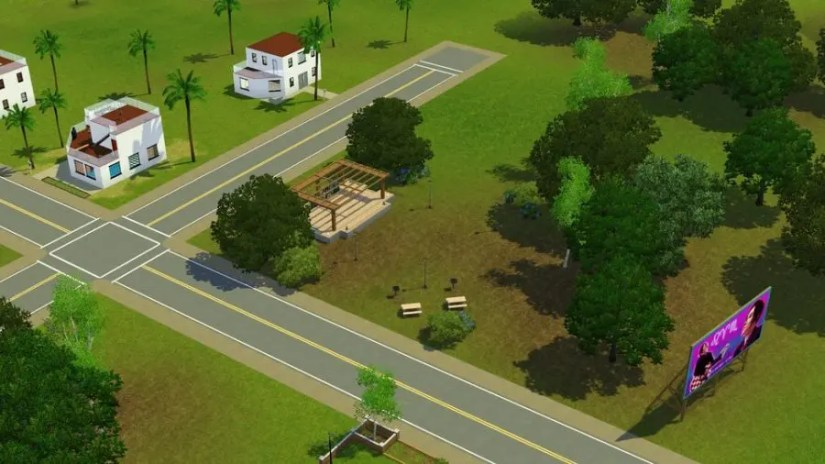 Performance Park in Sims 3 Pleasantview