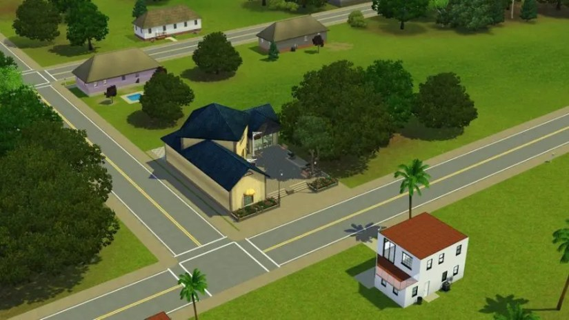 Salon in The Sims 3 Pleasantview
