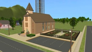 Pleasantview Church Side View 2