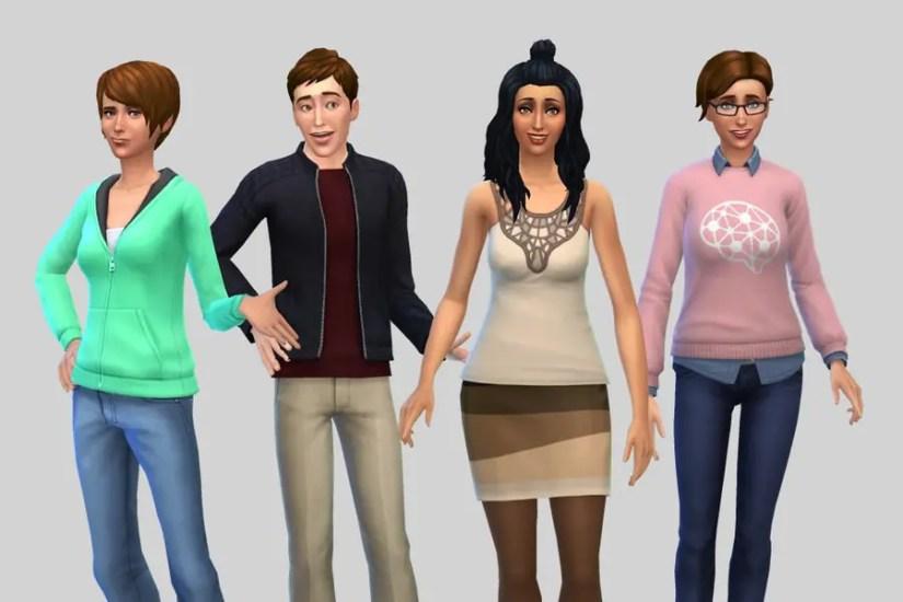 Sims 4 Burb Family