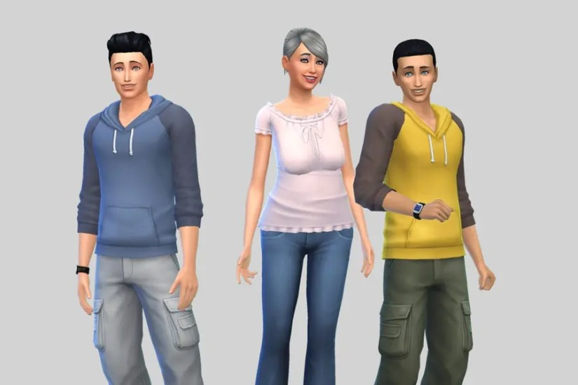 Sims 4 Dreamer Family