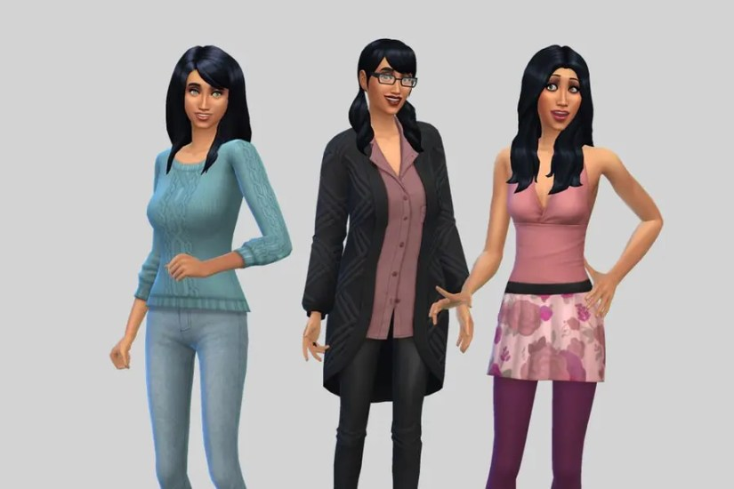 Sims 4 Goth Lothario Family