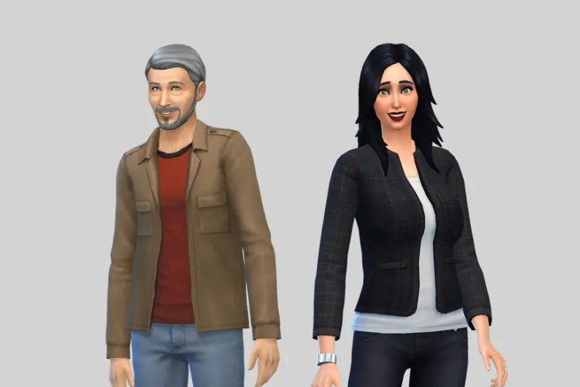 Sims 4 Pleasant Family