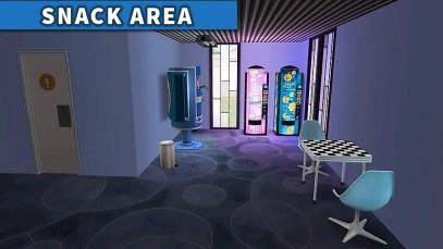 Interactive Arcade SNACK AREA