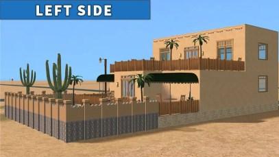 Sims 2 Strangetown Restaurant Bar LEFT SIDE