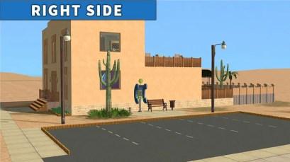Sims 2 Strangetown Restaurant Bar RIGHT SIDE