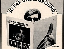 Evergreen Magazine ad - The Velvet Underground/Andy Warhol