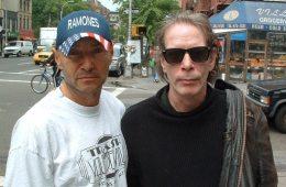 Arturo Vega and Legs McNeil