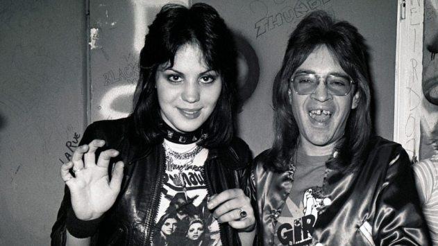 Joan Jett and Rodney Bingenheimer
