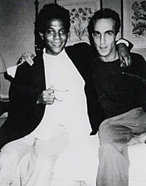 Basquiat and John Lurie by Andy Warhol. © The Warhol Foundation - http://www.warholfoundation.org/