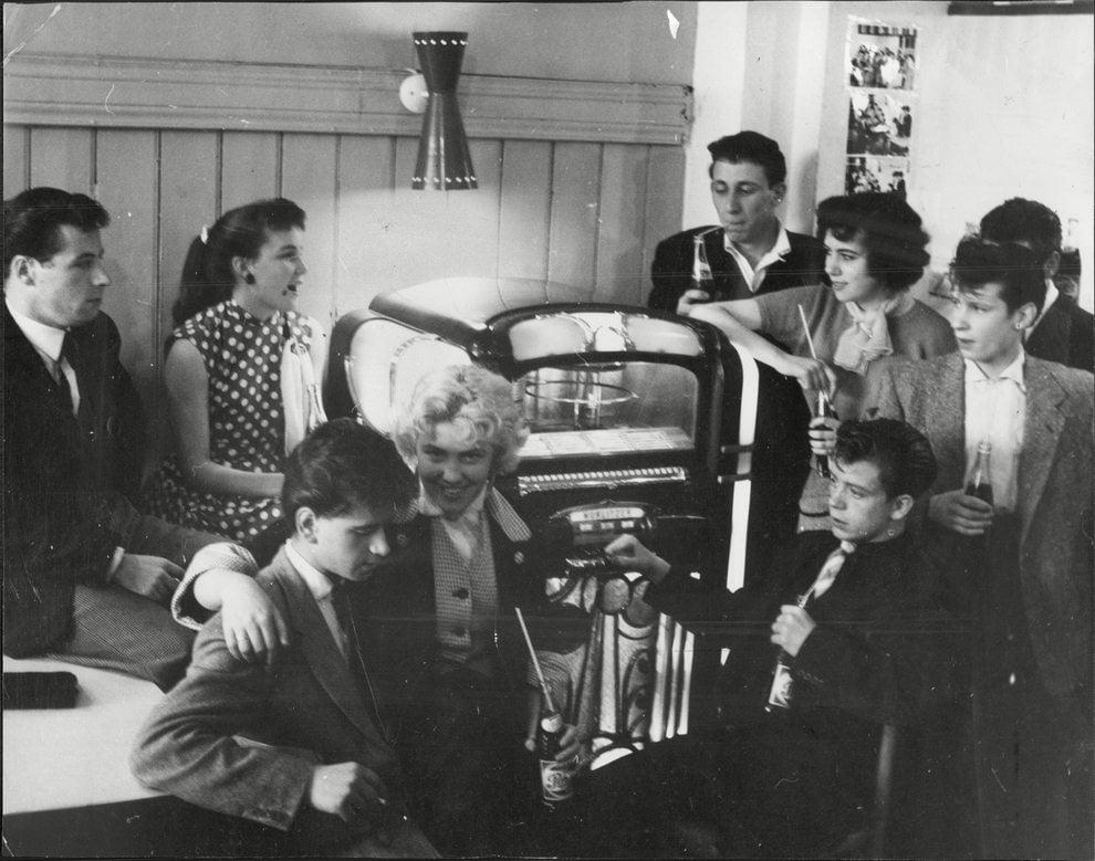 '50s Teds. Photo: Newspapers/ Rex USA