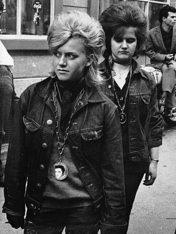 Rocker girls.
