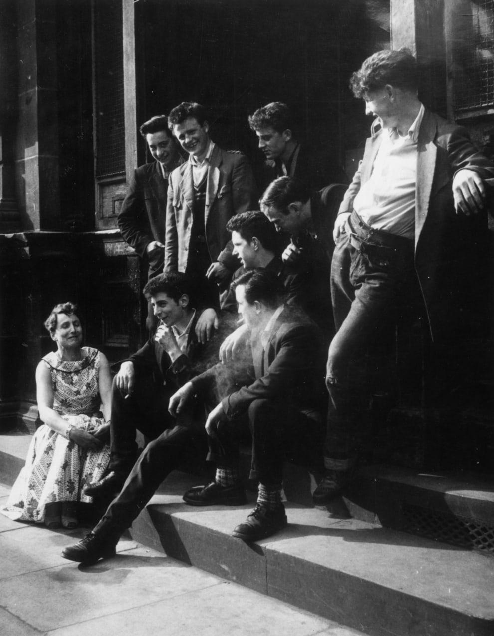 '50s Teds.Photo: Keystone/Stringer/Getty