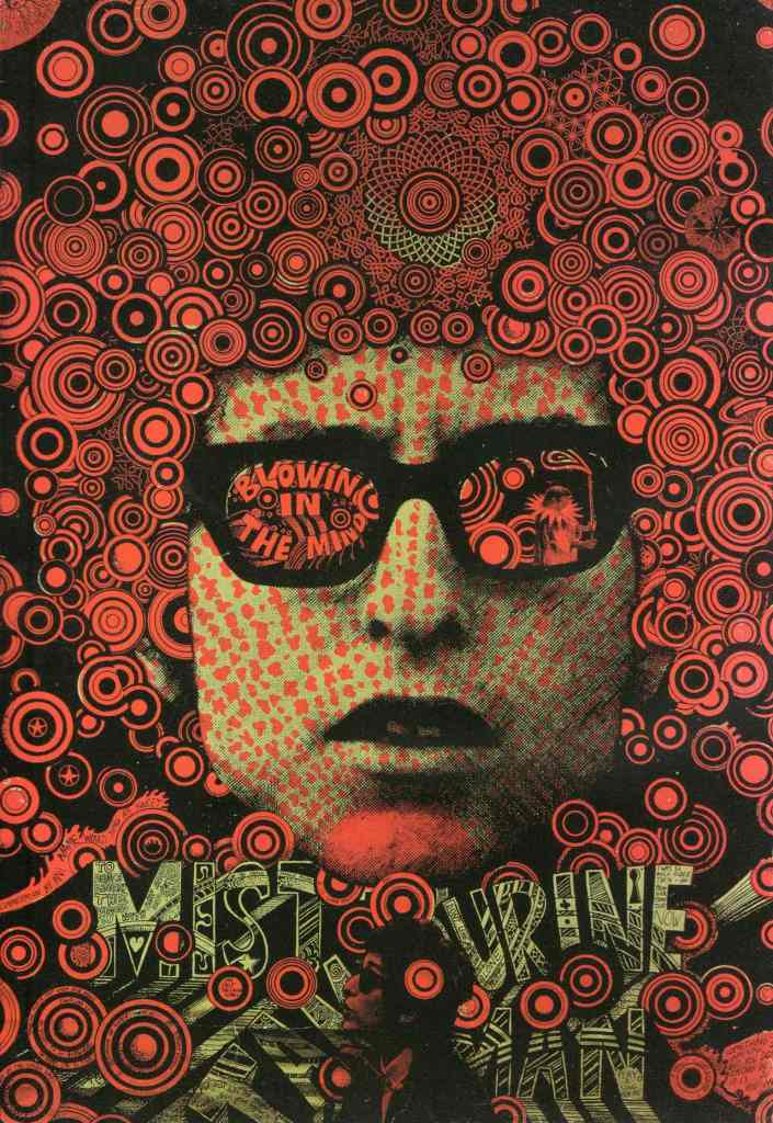Martin Sharp, Blowing in the Mind- Mister Tambourine Man, Big O Posters, London, 1967