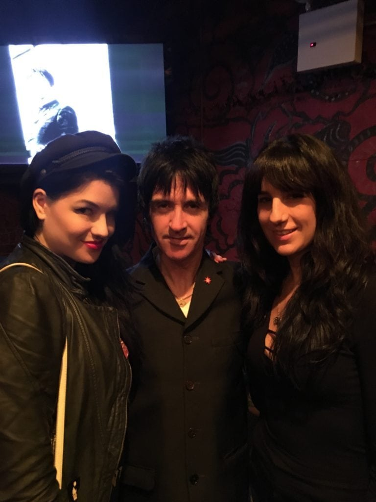 Amy Haben, Johnny Marr, and Denise Marie
