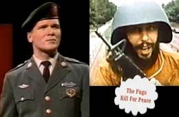 "The Fugs song ""Kill For Peace"" and Sgt Barry Sadler and The Ballad of the Green Berets"