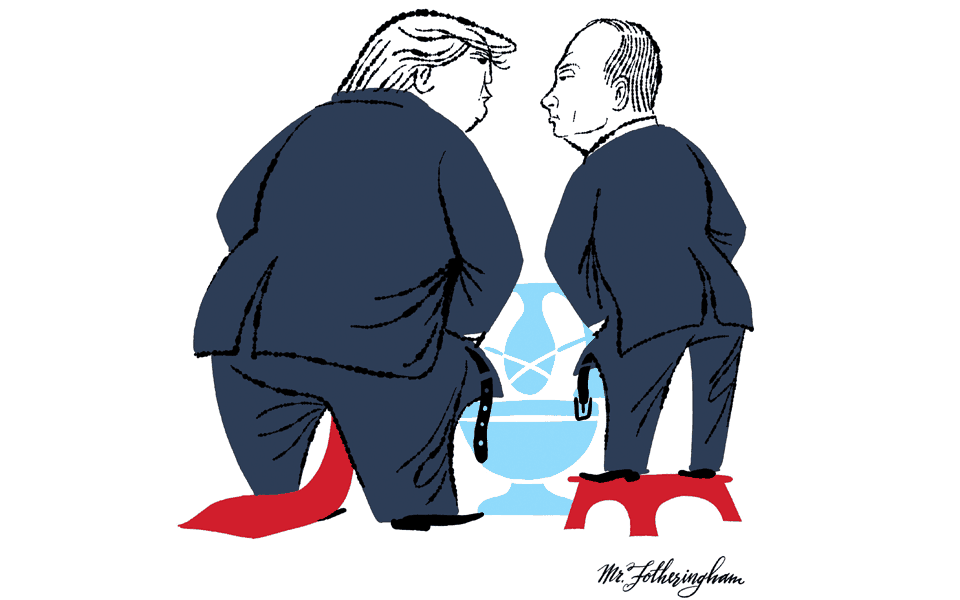 Trump / Putin by © Ed Fotheringham