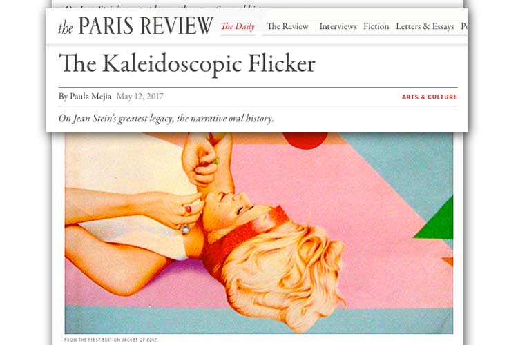 The Paris Review interviews Legs and Gillian