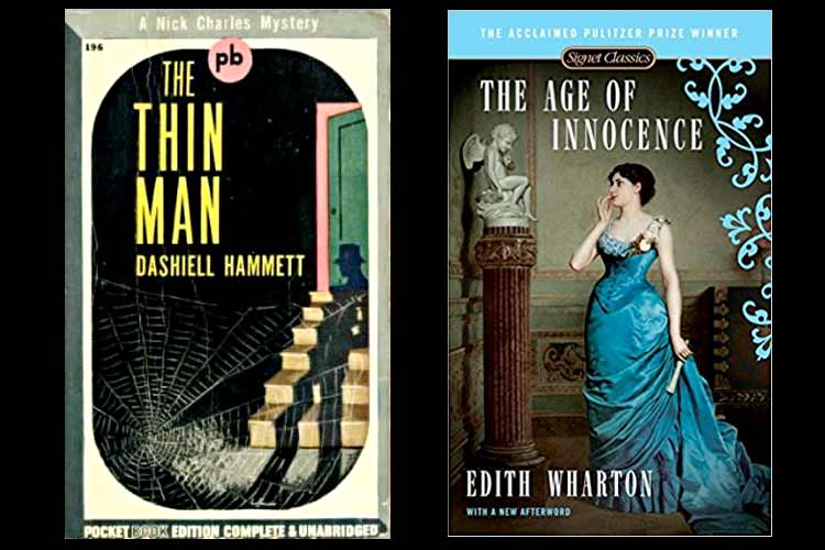 Ten Great New York City Novels: The Thin Man & The Age of Innocence