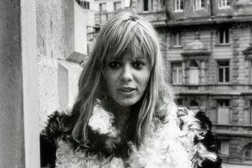Anita Pallenberg, Frankfurt, Germany, 1970. Copyright (c) Gerard Malanga.