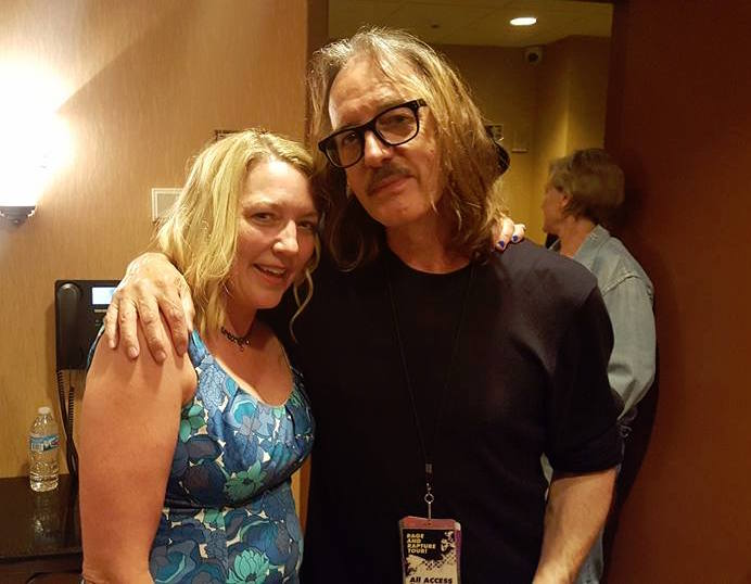 Laurie Lindeen with Butch Vig