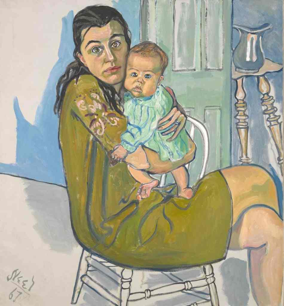 Mother and Child by Alice Neel