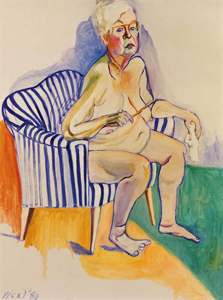 Alice Neel Self-Portrait 1980