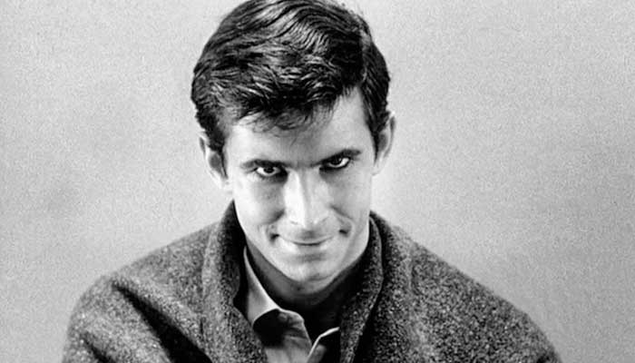 Anthony Perkins in Alfred Hitchcock's Psycho (1960)