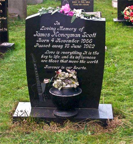 James Honeyman-Scott's Grave