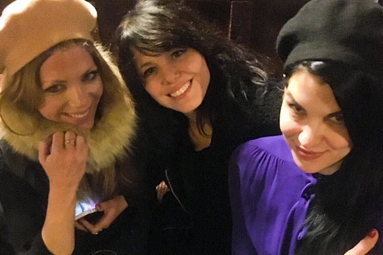 Janelle Best, Imelda May and Amy Haben