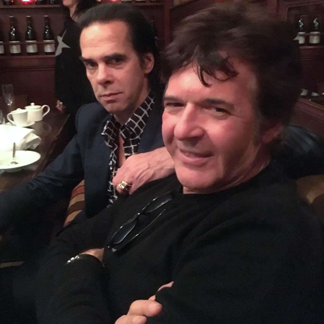Nick Cave & Clem Burke
