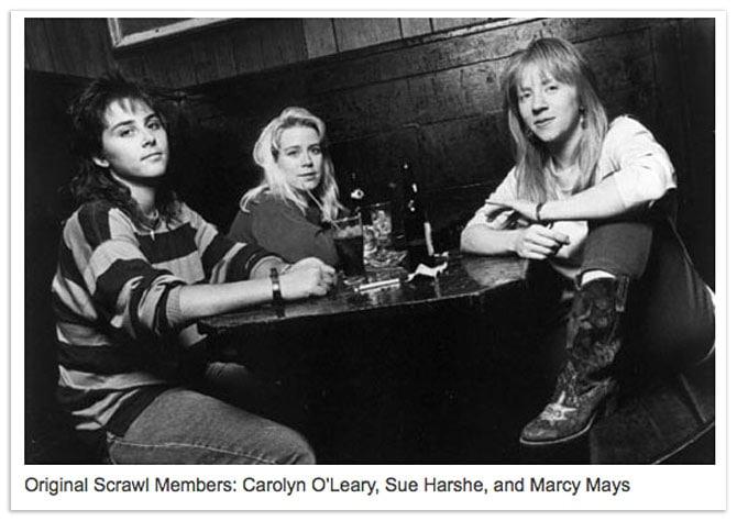 Scrawl - Carolyn O'Leary, Sue Harshe, Marcy Mays