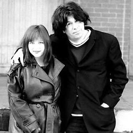 Bob Bert with Lydia Lunch 1997, Pittsburgh - Photo by Bart D Frescur