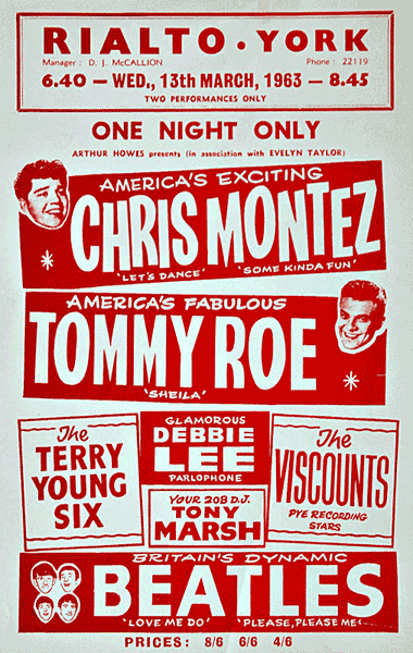 Chris Montez and Tommy Roe