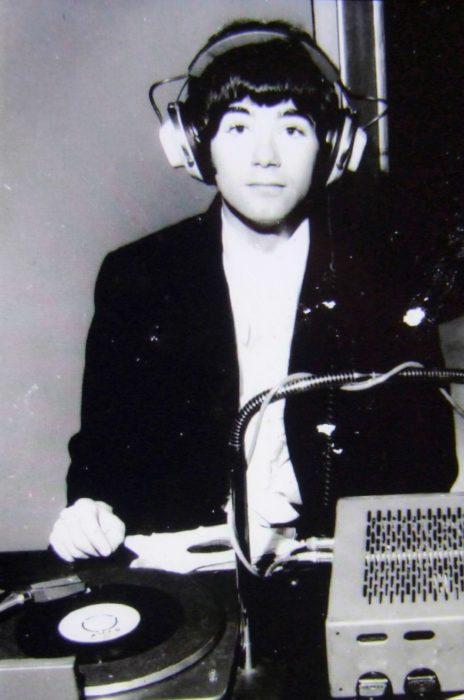 BP Fallon DJing, Dublin 1965. Photographer unknown